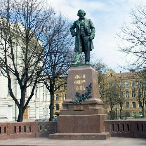 Monument to Glinka Monument (Russian Composer).