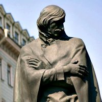 Monument to Nikolay Gogol (Russian Writer).
