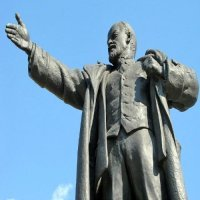 Monument to VladimirLenin (Bolshevik Leader).