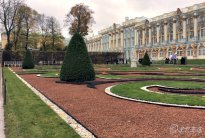 The Catherine Palace in Tsarskoye Selo, St Petersburg, Russia.