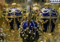 Russian Easter Eggs Faberge' style