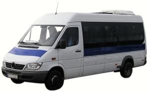 Russian Private Minibus