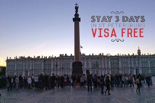St Petersburg visa free