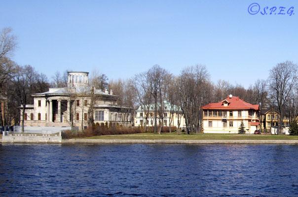 Kamenny Island in St. Petersburg Russia.