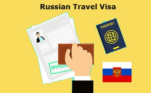 My Russian visa