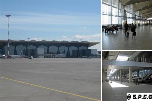 St Petersburg Airport, Russia.