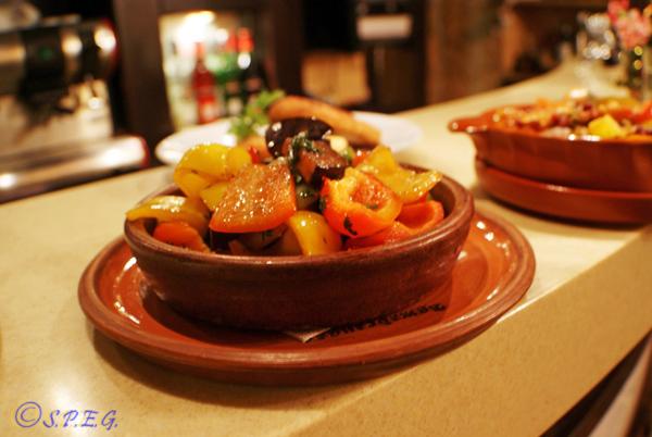 Adzhabsandal national Georgian dish