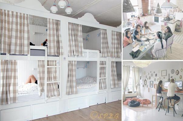 Hostels in St Petersburg Russia - Photos by Soul Kitchen Hostel