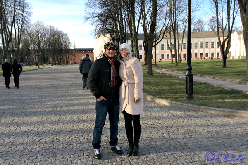 Anastasia and I