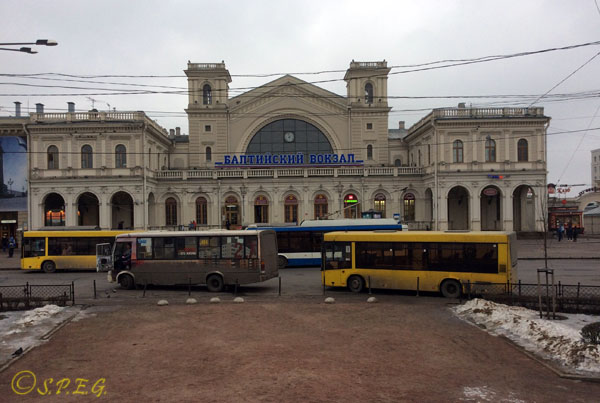 Baltiyskiy Railway Station