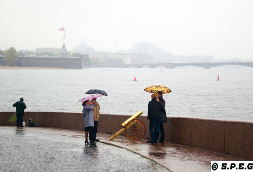 A few photos of weather in St Petersburg Russia: Summer, Winter, and Autumn.
