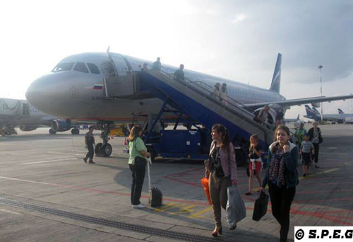 Cheap flights to St Petersburg Russia.