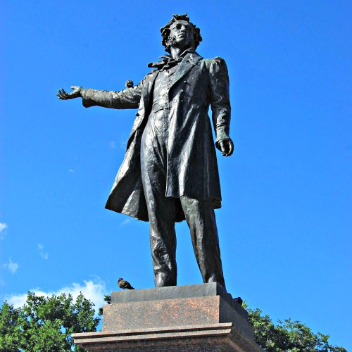 Monument to Alexander Pushkin (Poet).