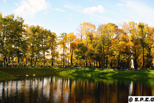 Autumn in St Petersburg