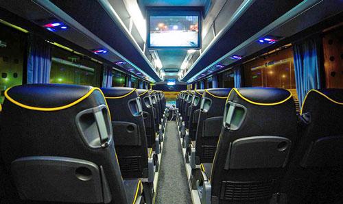 St Petersburg by Bus