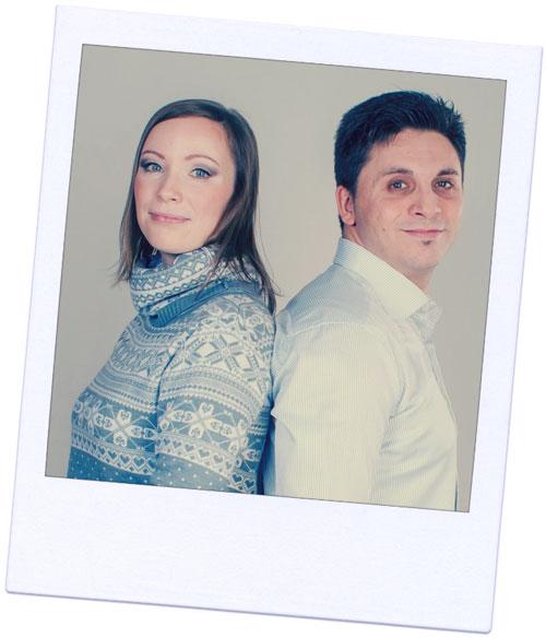 Davide & Anastasia founders of St Petersburg Essential Guide Travel Website