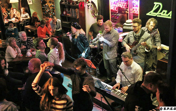 Jazz Bars in St Petersburg Russia