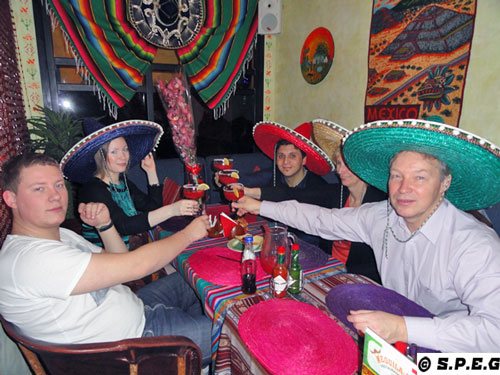 Mexican Restaurants in St Petersburg Russia