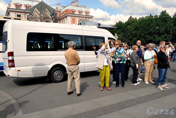 St Petersburg Bus Tours