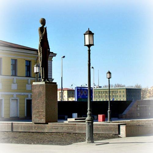 Monument to Anna Akhmatova (Poet).