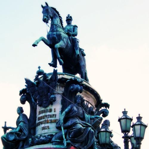 Monument to Nicholas I (Last Russian Tsar).