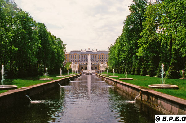 The Grand Palace of Peterhof