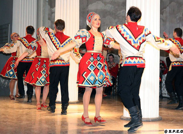 Russian Folk Music and Dance Show