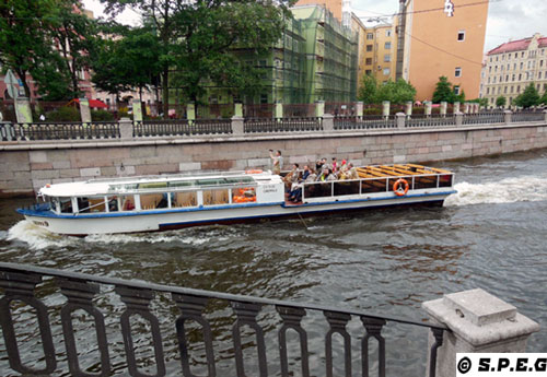 St Petersburg River Boat Tour