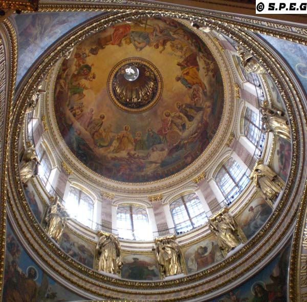 Interiors of St. Isaac Cathedral