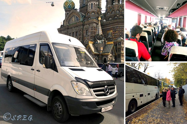 St Petersburg Bus Tours.
