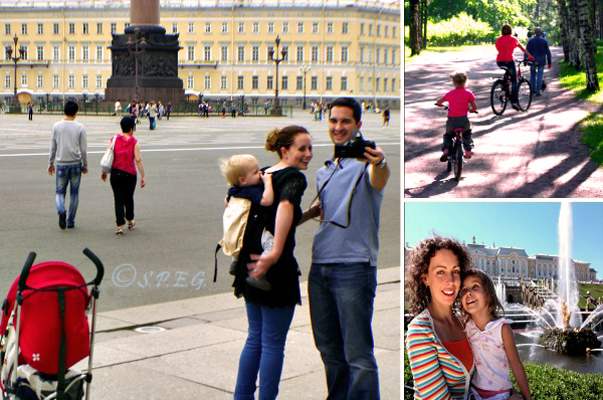 St Petersburg Russia with kids.