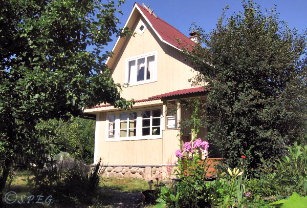 Photo of our Russian Dacha situated outside St Petersburg, Russia.