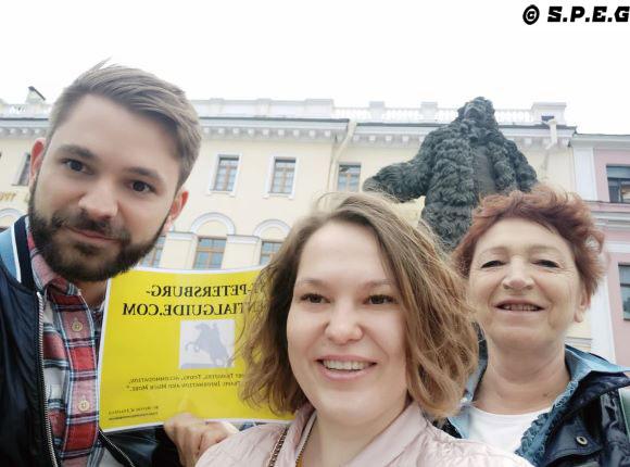 St Petersburg Walking Tours