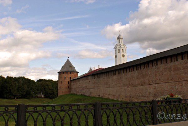 Veliky Novgorod Fortress in Russia.