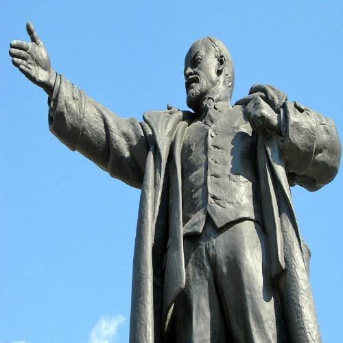 Monument to VladimirLenin (Bolshevik Leader).