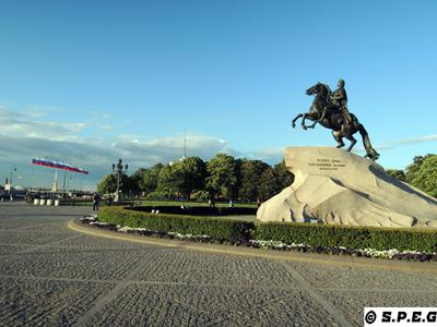 The Bronze Horseman - Symbol of St Petersburg, Russia