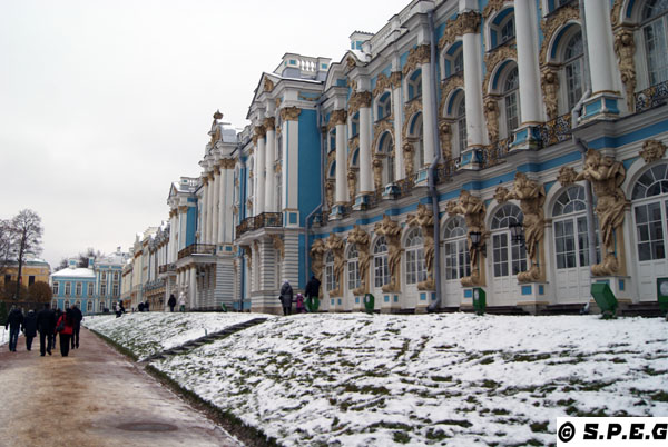Catherine Palace in winter