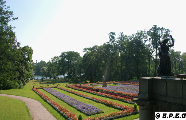 Catherine Park and Gardens in summer