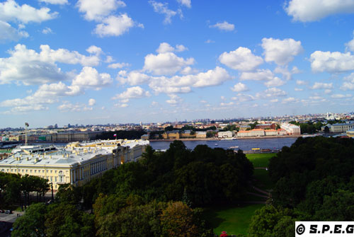 The City of St Petersburg Russia